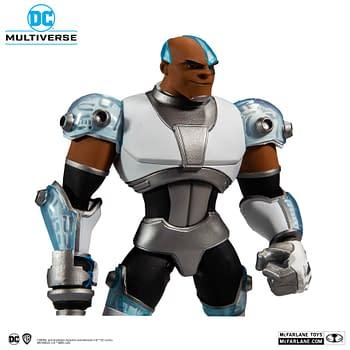 McFarlane Toys DC Multiverse Cyborg and Arkham Origins Get Glams