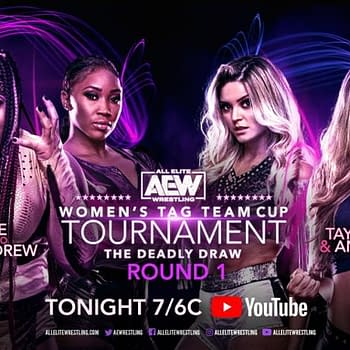 AEW Invades Monday Nights with Womens Tag Tournament Tonight