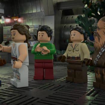 LEGO Star Wars Holiday Special (Image: Disney+)