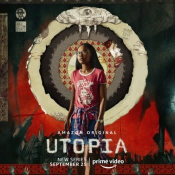 A look at the cast of characters from Utopia (Image: Amazon Studios)