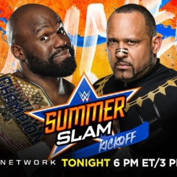 Apollo Crews faces MVP at WWE SummerSlam (Image: WWE)