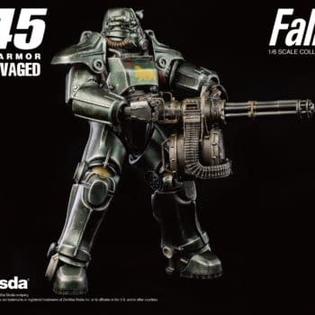 Fallout T-45 NCR Power Armor Figure Coming to Threezero