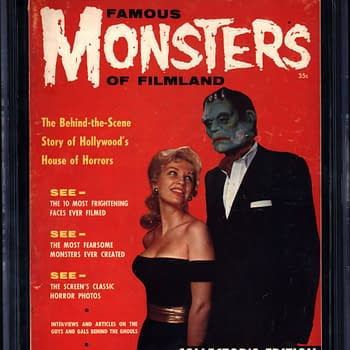 First Issue of Famous Monsters Auction Ends Today On ComicConnect