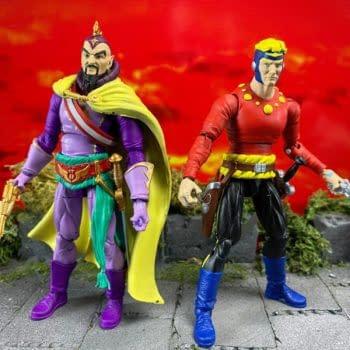 Flash Gordon Gets New Figures from Boss Fight Studio