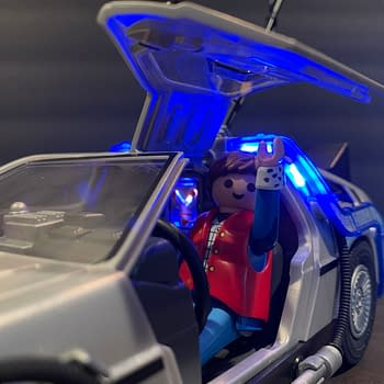 Lets Take A Look At The Playmobil Back To The Future Delorean