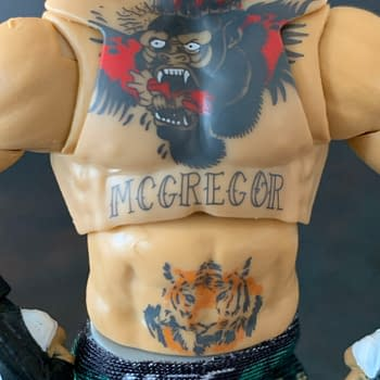 We Take A Look At Jazzwares New UFC Ultimate Series Conor McGregor
