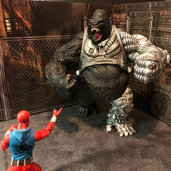 McFarlane Toys RAW-10 Uncages the Ape Known as Cy-Gor