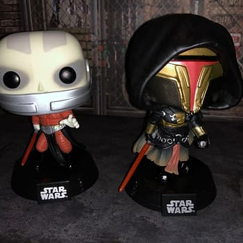 Star Wars Knights of the Old Republic Funko Pops Have Arrived