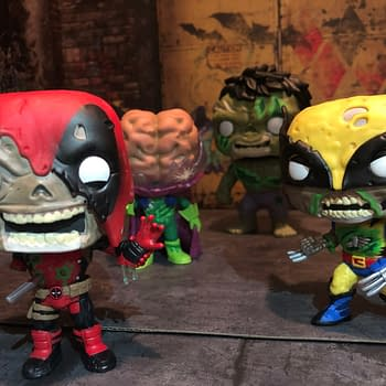 Marvel Zombies Funko Pops Rise with Wolverine and Deapool
