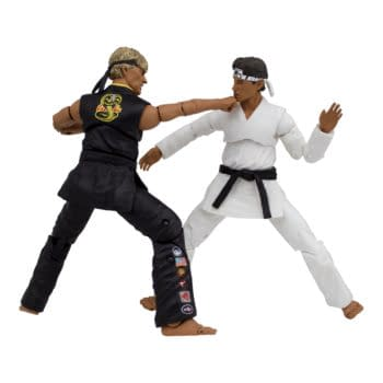 Relive Karate Kid All-Valley Tournament with Icon Heroes Figures