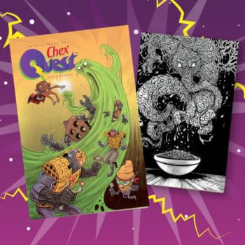 Free Chex Quest Comic Anthology Coming This August