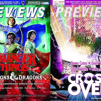 Stranger Things D&#038D Crossover on Cover of Next Weeks Previews