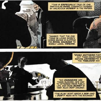 DC Comics Has A John Constantine Story That Suggests Prince Andrew