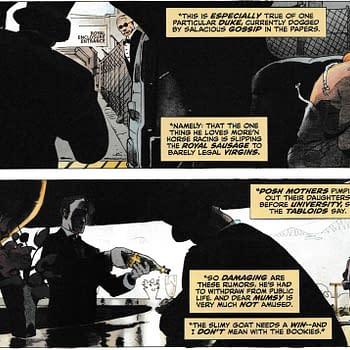 Prince Andrew Stars in DC Comics John Constantine: Hellblazer #9