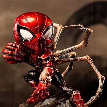 Spider-Man Iron Spider Gets New MiniCo Iron Studios Statue