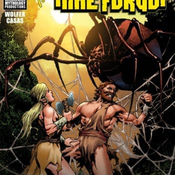 Zorro Enters The Land That Time Forgot in American Mythology Crossover