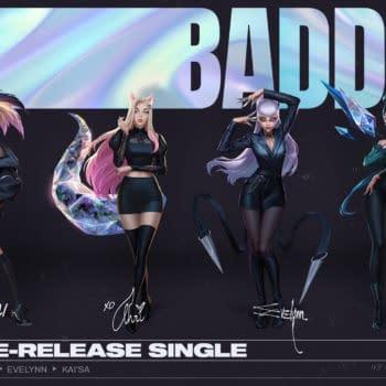 League Of Legends' Pop Group K/DA Announces A Comeback