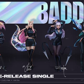 League Of Legends Pop Group K/DA Announces A Comeback