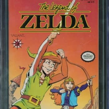 Legend Of Zelda #1 Comic Up For Auction On ComicConnect Today