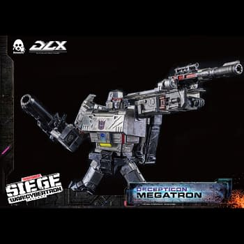 Transformers Decepticon Leader Megatron Arrives with Hasbro/Threezero