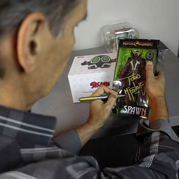 Autographed Spawn McFarlane Toys Figures Coming to Walmart