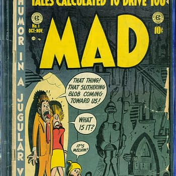 Mad Magazine #1 Up For Auction Today On ComicConnect
