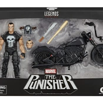 The Punisher Rides on in With New Marvel Legends Hasbro Set