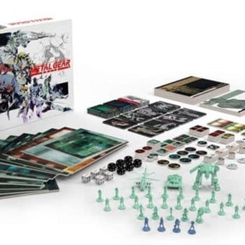 IDW Games Delays Metal Gear Solid: The Board Game Again