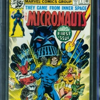 Micronauts #1 CGC Copy Up For Auction At ComicConnect
