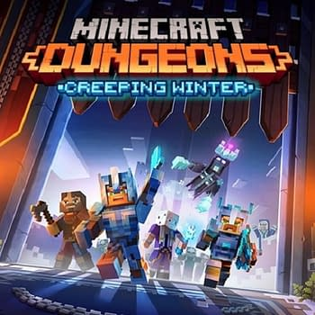Minecraft Dungeons Will Get The Creeping Winter Expansion Next Month