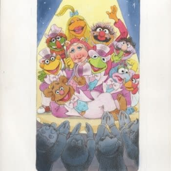 An Adorable Pin-Up Of The Muppets Is On Auction On Comic Co