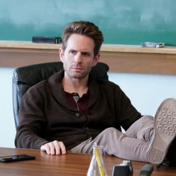 """A.P BIO -- """"Disgraced"""" Episode 302 -- Pictured: Glenn Howerton as Jack -- (Photo by: Chris Haston/Peacock)"""