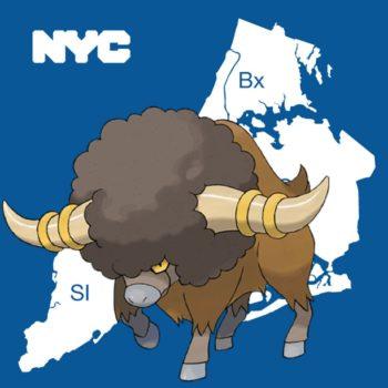 New York City Regional Pokémon Bouffalant Coming To Pokémon GO