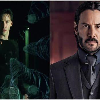 "Bill & Ted Star Keanu Reeves Won't Bait ""Neo vs John Wick"" on Colbert"