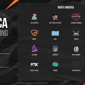 PUBG Corp. Reveals PCS2 North America Grand Final Teams