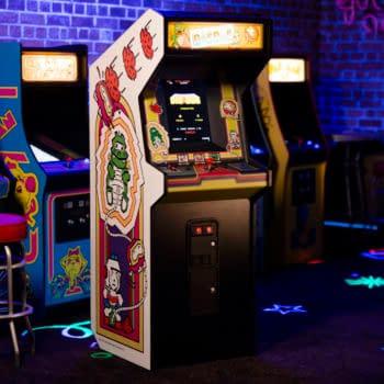 Numskull Shows Off Their New Dig Dug Quarter Arcades Cabinet