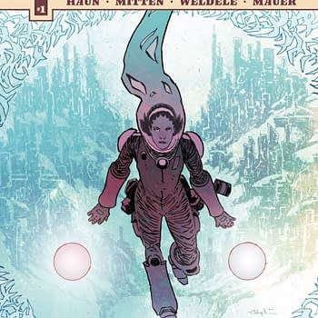 40 Seconds #1 Review: Sci-Fi In Gorgeous Pastel Watercolors