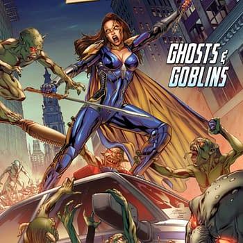 Belle: Ghosts &#038 Goblins Review: Zenescope Creates Their Own Batman