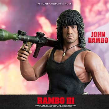 Rambo III Figure Getting a Second Production Run from Threezero