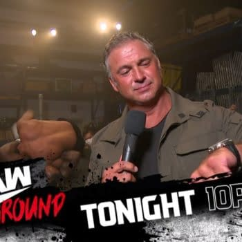 Vince McMahon's Large Adult Son Hosts Illegal Fight Club on WWE Raw (Image: WWE)