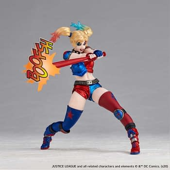 Harley Quinn is Back with New Revoltech Variant from Kaiyodo