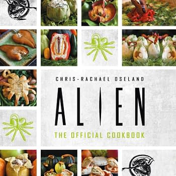 The Official Alien Cookbook in Titan Comics November 2020 Solicits