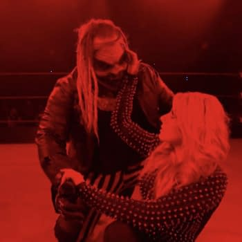 Alexa Bliss and the Fiend, sitting in a tree... on WWE Smackdown