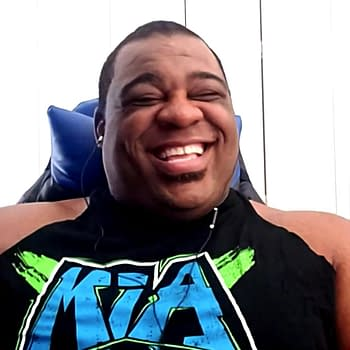 Keith Lee Keeping a Positive Attitude About Terrible Theme Music