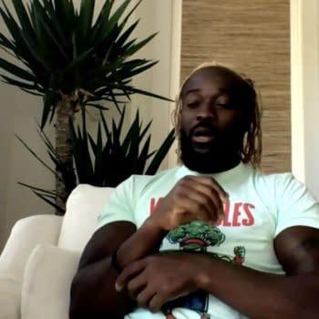Kofi Kingston appears on WWE's The Bump podcast.