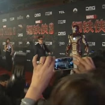 Downey Jr Fans Fell From the Trees for Iron Man 3 Beijing Red Carpet