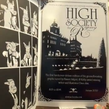 Cerebus: High Society Remastered Hardcover Gets a Price