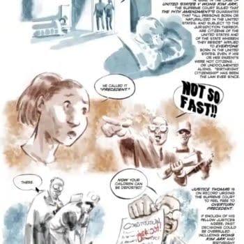 Born In The USA, 14/15th Amendment Graphic Novel Announced: Metaverse