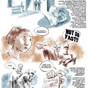 Born In The USA 14/15th Amendment Graphic Novel Announced: Metaverse