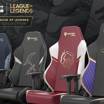 Secretlab & Riot Games Partner On League Of Legends Gaming Chairs